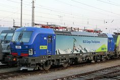 Trains and locomotive database and news portal about modern electric locomotives, made in Europe. Train Truck, Swiss Railways, Electric Locomotive, Railroad Tracks, Transportation, Locs, Trucks, Travel, Europe