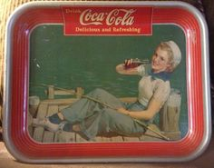 Vintage Coca Cola Tray by 21JunkSt on Etsy, $95.00
