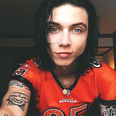 this is my new favorite picture of Andy Biersack