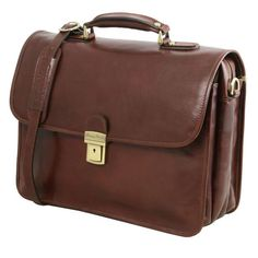 Vernazza - Tuscany Leather - Leather briefcase with Laptop compartment - Bags For Business