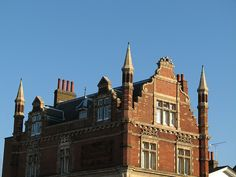 Top of the old bank on the corner of Lewisham Way / Friendly Street by Jon God, via Flickr