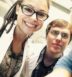 Scott and Cosima. Love these two nerds.