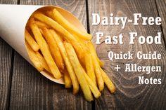 Dairy-Free Fast Food