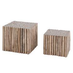 Couchtisch Tree Square IV (2-teilig) - Teakholz massiv - Teak, Red Living Jetzt bestellen unter: https://moebel.ladendirekt.de/wohnzimmer/tische/couchtische/?uid=1e6d0f2f-0595-597d-9ce6-18573428cfcf&utm_source=pinterest&utm_medium=pin&utm_campaign=boards #red #möbel #living #beistelltische #couch #wohnzimmer #couchtische #tische