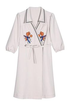 Embroidery Wrap Dress – The Other Sparrows
