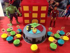 #boloherois #superherocake