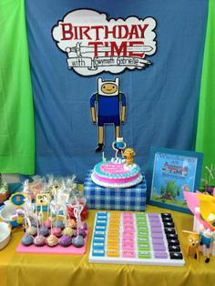 What time is it?   It's Birthday Time!