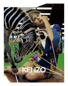 Małgosia Bela by Yelena Yemchuk for Kenzo Campaign Spring 2008