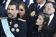 Felipe y Letizia en la entronización del Santo Padre Francisco en Roma.