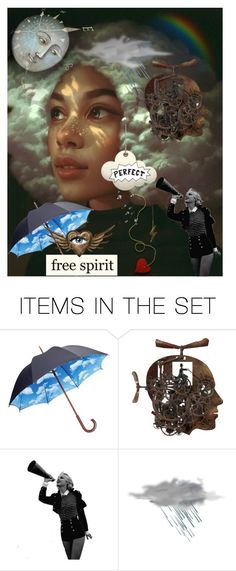 """""""She is like the calm before the storm - Portrait of a Lady"""" by sheila-ball ❤ liked on Polyvore featuring art"""