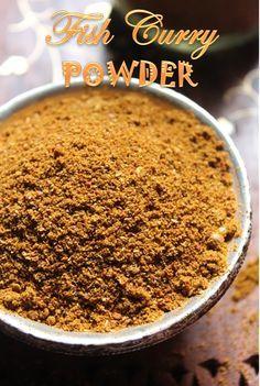 Masala Powder Recipe, Masala Recipe, Homemade Spices, Homemade Seasonings, Barbacoa, Fish Recipes, Indian Food Recipes, Podi Recipe, Sauces