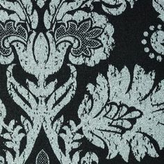 Medallion Black #windowtreatments #windows #modernwindowtreatments #colors #patterns #medallion #blackandsilver