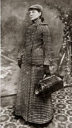 Nellie Bly (Elizabeth Cochrane), a pioneering female journalist who traveled around the world in fewer than 80 days
