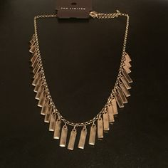 Gold necklace Gold Necklace from The Limited. NWT. Never worn. The Limited Jewelry Necklaces