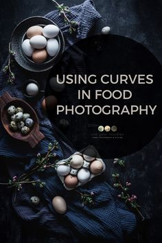Using curves in food photography can add softness and natural feel to the photo. Here is a tutorial on how to use curves to create beautiful compositions. Food Photography Styling, Photography Camera, Creative Photography, Tabletop Photography, Photography Composition Techniques, Photography Tutorials, Photography Ideas, Product Photography, Food Styling