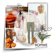 """Sweater romwe"" by dzena-05 ❤ liked on Polyvore featuring Roxy, Michael Kors, Rolex and Charlotte Russe"