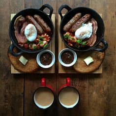 Check Out These Simple Cooking Tips! Healthy Breakfast Menu, Breakfast Dishes, Tasty Movie, A Food, Food And Drink, Good Foods To Eat, English Food, Learn To Cook, Cooking Tips