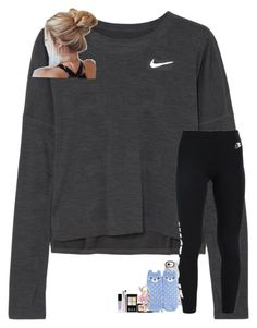 """""""nike #2"""" by hhaileyyyy on Polyvore featuring NIKE, Casetify, Forever 21, LC Lauren Conrad, nike and hhaileyyyy"""