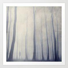 growing weaker Art Print by Dirk Wuestenhagen Imagery - $18.00
