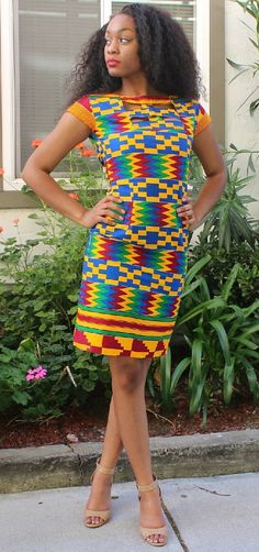 Kente dress style for Christmas