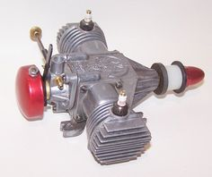 Vintage 1946 Macval Mfg. Viking .65 Twin Spark Ignition Model Airplane Engine | eBay