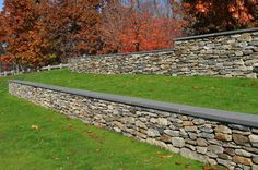 retaining wall  natural stone ideas | Stoneyard.com - Natural Stone Siding for Architecture: Groton Schools ...