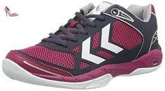 f215750ddb Hummel Omnicourt Z4, Chaussures de Fitness Femme, Rose (Sangria), 40 EU