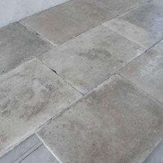 18th c. limestone flooring, chateaux domingue