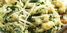 Guiso de Quinoa a la espinaca