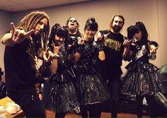 BABYMETAL「Kornとズッ友写真」 : BABYmatoMETAL