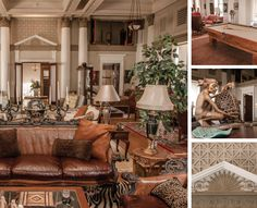 Ballroom turned luxe living space in Downtown Lynchburg, Virginia
