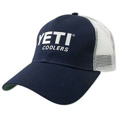 YETI Navy Trucker Hat Cooler * Visit the image link more details. Note:It is Affiliate Link to Amazon.