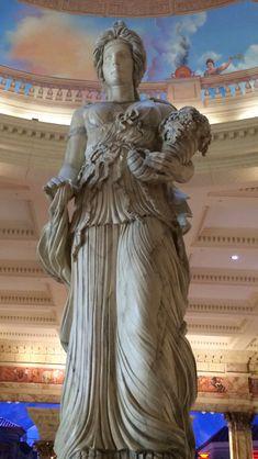 Demeter (Ceres) Goddess of the harvest.