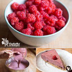 Kuchařka ze Svatojánu: NEPEČENÝ MALINOVÝ DORTÍK Agar, Dessert Drinks, Muesli, Raspberry, Fruit, Sweet, Food, Candy, Meal