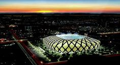 Manaus, Brazil - Hosting 4 games - FIFA World Cup Brazil 2014 (M. Fifa 2014 World Cup, Brazil World Cup, Soccer Stadium, Football Stadiums, Soccer Teams, World Cup Tickets, World Cup Stadiums, Stadium Architecture, Amazing Buildings