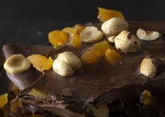 Hazelnut, Pumpkin Seed, And Pistachio Dark Chocolate Bark Recipes ...