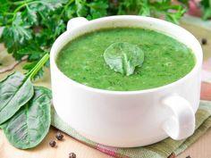 Recette de Soupe d'épinards frais