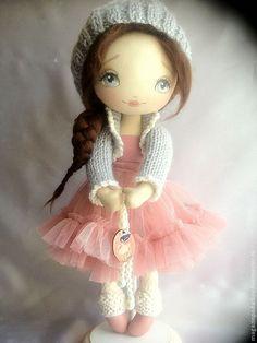 Muñecas de colección hechos a mano.  Masters Fair - Tanya muñeca hecha a mano.  Hecho a mano.
