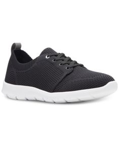 76024dc0f1 Clarks Collection Women s CloudSteppers Step Allenasun Sneakers - Black