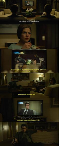 """Sharon Schieber Interview [Part2]"" - Gone Girls (2014) Rosamund Pike as Amy Elliot Dunne, Ben Affleck as Nick Dunne, Neil Patrick Harris as Desi Collings"