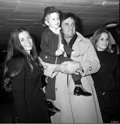 June & Johnny Cash family.