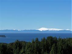Cordillera desde mi casa en Terao