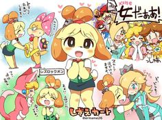 I know that Animal Crossing isn't an anime, but who's ready for Animal Crossing Switch? Super Mario Bros, Super Mario Kunst, Super Smash Bros Memes, Nintendo Super Smash Bros, Super Mario Brothers, Mario Kart, Geeks, Illustration Kawaii, Super Smash Ultimate
