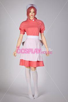 Pokemon - Nurse Joy Cosplay Costume Version 01, $144.95