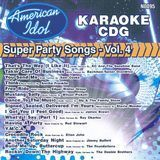 Karaoke: American Idol Super Party Songs, Vol. 4 [CD], 11893875