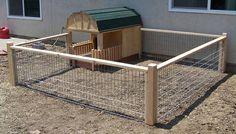 Gallery 3 Mini Pig House / Chicken Coop Run
