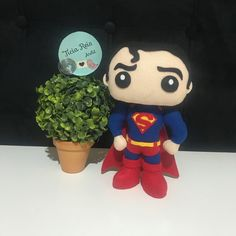 Apostila Digital Superman no Elo7 | Ateliê Ticia Reis (1056E7A) Clark Kent, Luigi, Deadpool, Digital, Boys, Fictional Characters, Superman Gifts, Collages, King