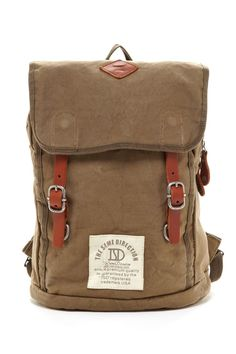 b9381ea72ca SO HOT HauteLook   Love Stitch  Backpacks   More  Foldover Flap Backpack  Canvas Backpack