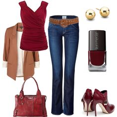 Running with Red - Polyvore