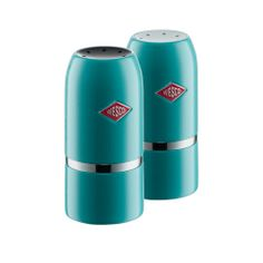 Wesco Salt & Pepper Set, Turquoise, Wesco